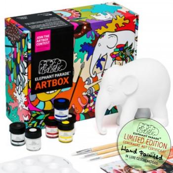 Beschilder zelf uw olifant beeldje