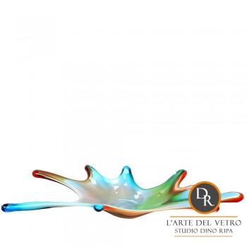 Schaal Laguna Unica glaskunst
