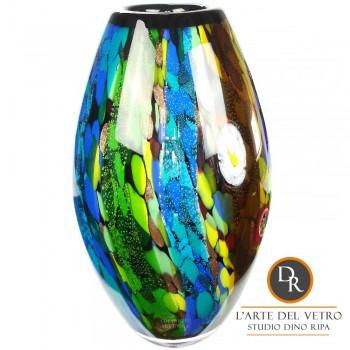 Empoli glaskunst vaas Murano