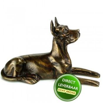 Bronzen beeld Dog