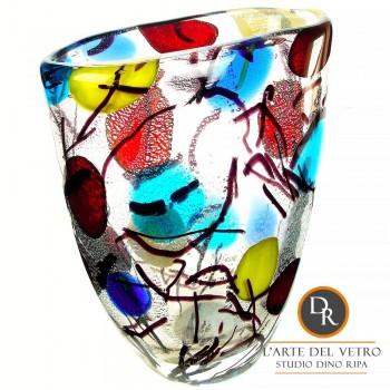 Italiaans vaasje glaskunst Verano