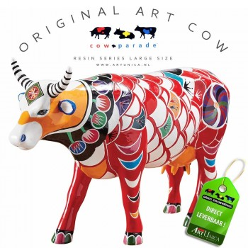 Shanhai Cow Koebeeld beschilderd