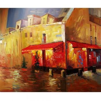 Schilderij Impressionisme John Frel Colors of Montmartre Art Unica