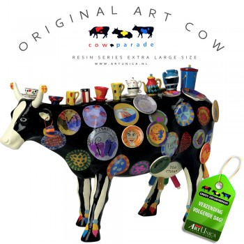 The Moo Potter design koe