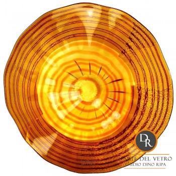 Abano schaal glaskunst Dino Ripa