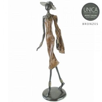 Thetis Afrikaans bronzen beeld