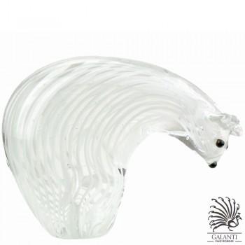 Ijsbeer beeldje glas