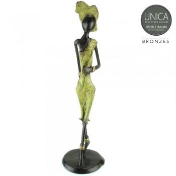 Art of Africa beeld brons