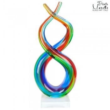 Verbinding glassculptuur Unica