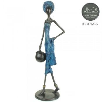 Thetis Afrikaans bronzen beeld Unica