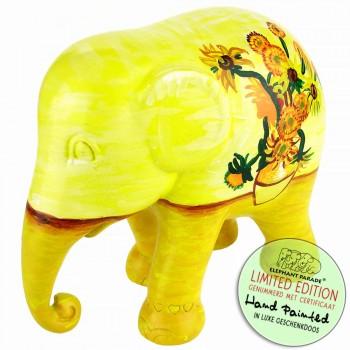 Sunflowers Elephant Parade olifant beeldje