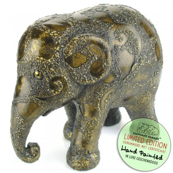 Golden Clovers Elephant Parade olifant beeldje