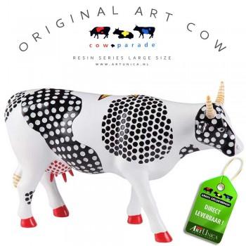 Cow! Koebeeld beschilderd