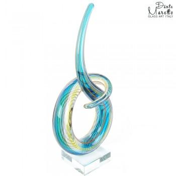 Glassculptuur Titel Verbonden Unica