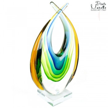 Expression glassculptuur Unica