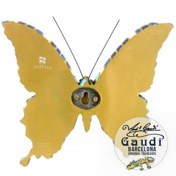 Vlinder beeldje mozaiek