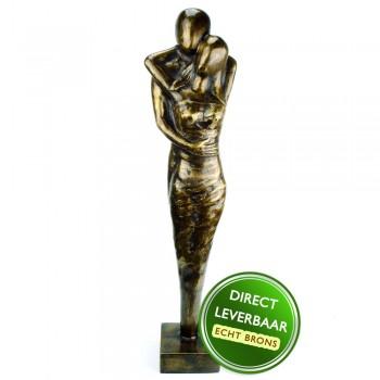 Bronzen beeld Warme Liefde Art Unica Amersfoort