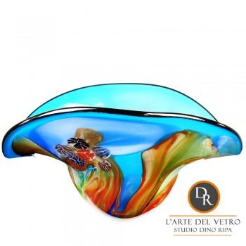Fiesole glaskunst geblazen schaal Dino Ripa