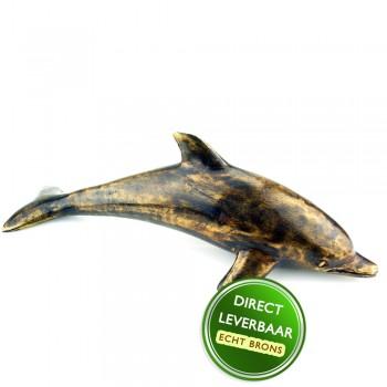 Bronzen beeldje Dolfijn Art Unica Amersfoort
