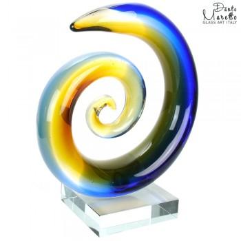 Glaskunst Abstract Spiral of Love