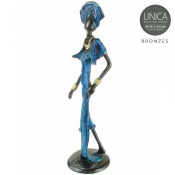 Helen brons beeld Afrikaanse vrouw