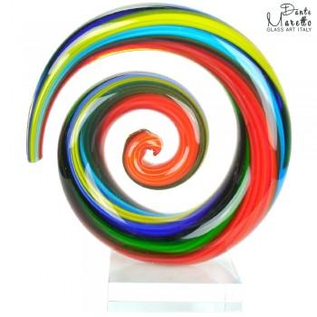 Spiral of Love glassculptuur