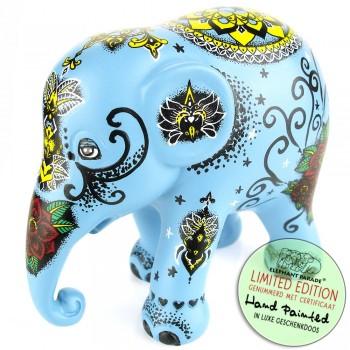 Gartnerfante Elephant Parade olifant beeldje