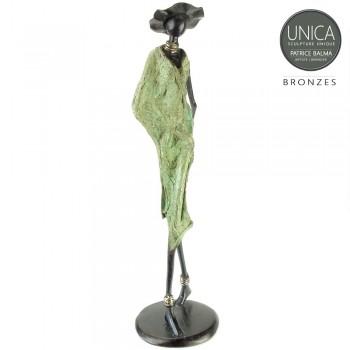 Mireille Afrikaans bronzen kunstbeeld