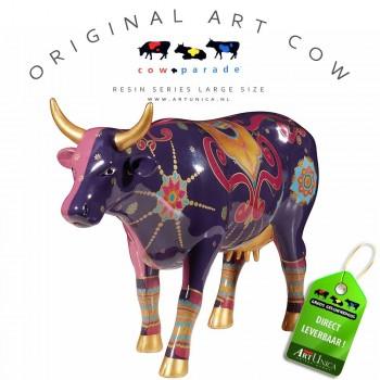 New Delhi Cow Koebeeld beschilderd
