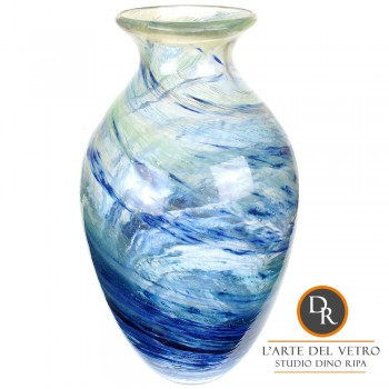 Aqua Frizzante glaskunst vaas