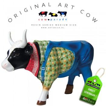 Farmer Cow kunst koebeeldje