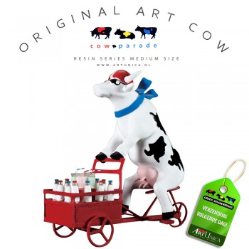 Art Cow Koe beeldje Art Unica