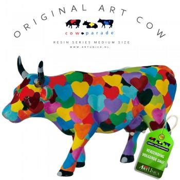 Koebeeldje Heartstanding Cow