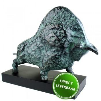Bronzen beeldje Kracht en onverzettelijkheid Galerie en Kunstwinkel Art Unica Amersfoort