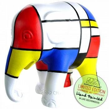 Mondriaan beeldje olifant