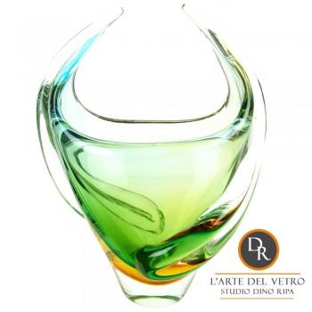 Allessandria glaskunst Murano vaasDino Ripa