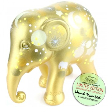 Sparkling Celebration Gold Elephant Parade olifant beeldje