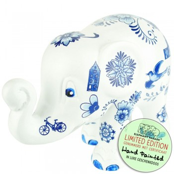 Delft Blue All Over Elephant Parade olifant beeldje