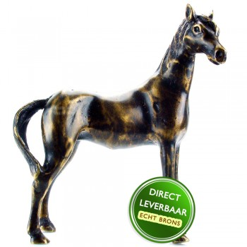 Bronzen beeldje Sierlijk paard Art Unica