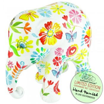 Floral Symphony Elephant Parade olifant beeldje
