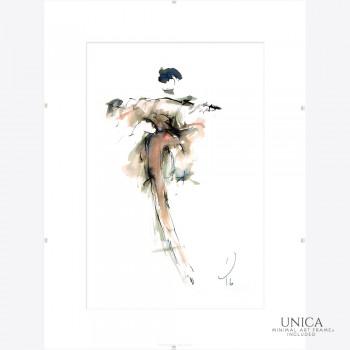 Danseres schilderij Tineke Bosselaar