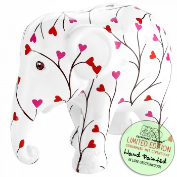 Olifant beeldje Pink Tree of Love Elephant Parade