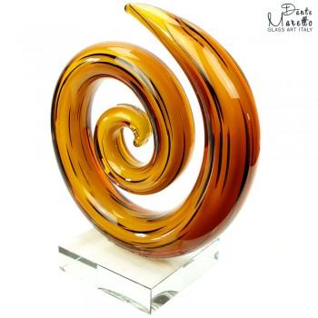 Spiral of Love Glaskunst Art Unica