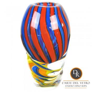 Vaas glaskunst model Potenza Dino Ripa