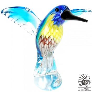 Kolibri beeldje glas