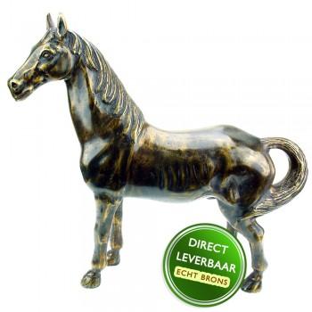 Bronzen beeldje Sierpaard Art Unica