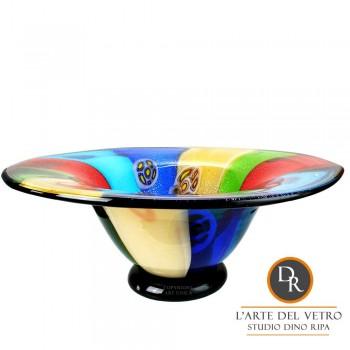 Dino Ripa schaal glaskunst