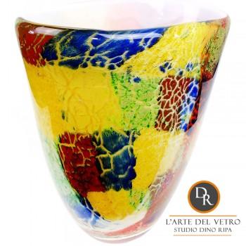 Vaas Dino Ripa glaskunst