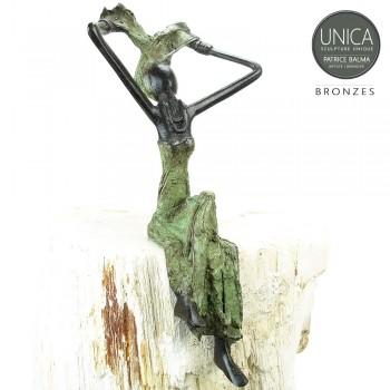 Afrikaans bronzen beeld Adeline
