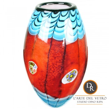 Glaskunst vaas Volterra Unica Dino Ripa
